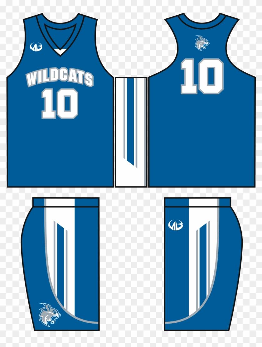 Basketball Jersey Design Template - Basketball Uniform #289333