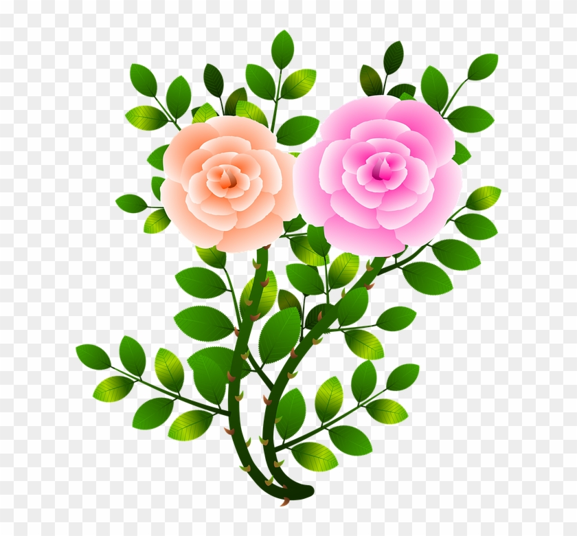 Tropical Flowers Clipart 23, Buy Clip Art - Green Flower With Branch #289344