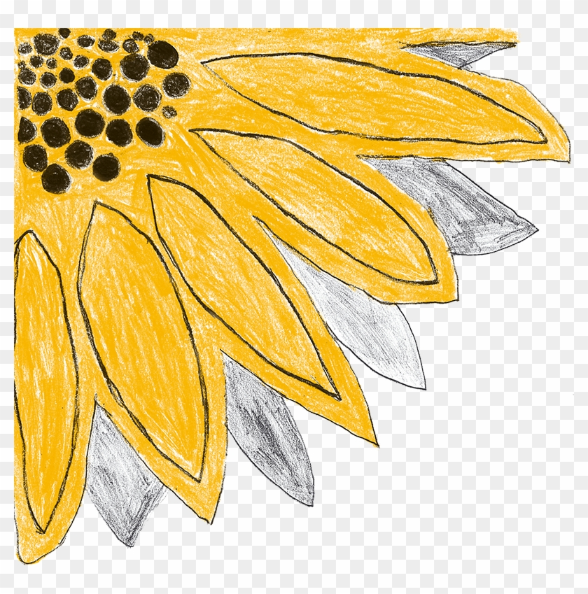 Sunflower Clipart Png #289352