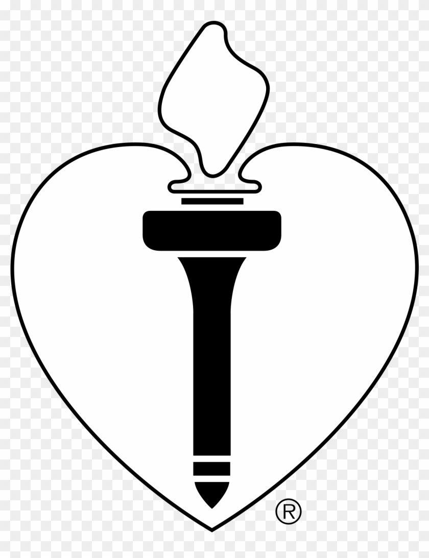 American Heart Association Logo Png Transparent - Emblem #289371