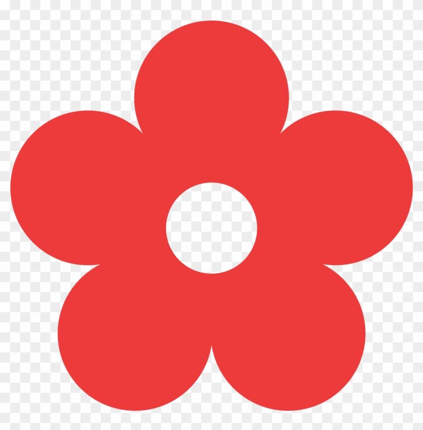 Single Colour Clipart Hd - Flower Clipart Color #289375