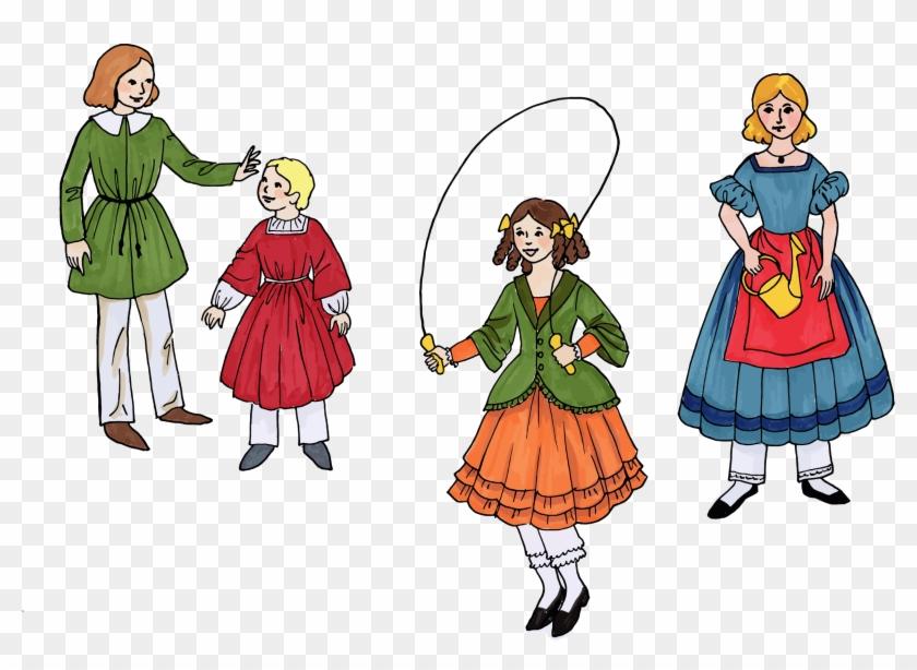Vintage Children's Fashion - Child #289431