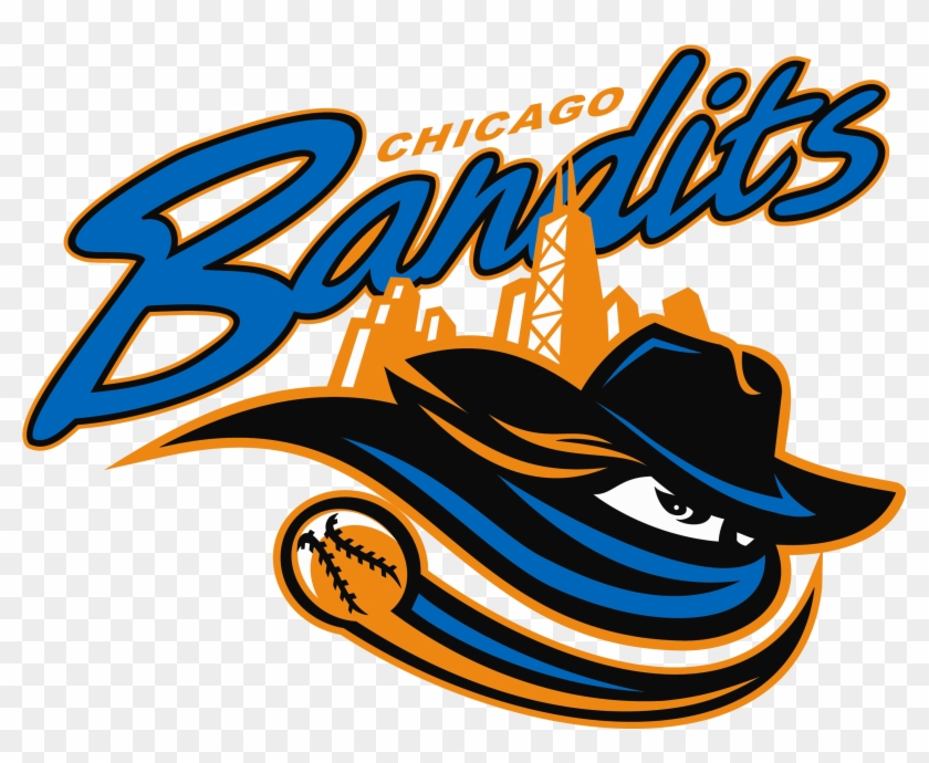 4, Chicago Bandits - Chicago Bandits Softball Logo #289422