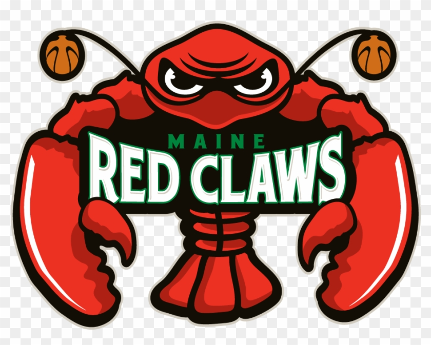 Basketball Logo Clipart - Maine Red Claws Logo #289432