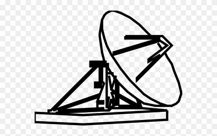 This Free Clip Arts Design Of Earth-station - Satellite Earth Station Clip Art #289459