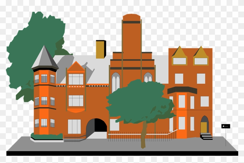 Old Building Clipart - Clipart Building Png #289493