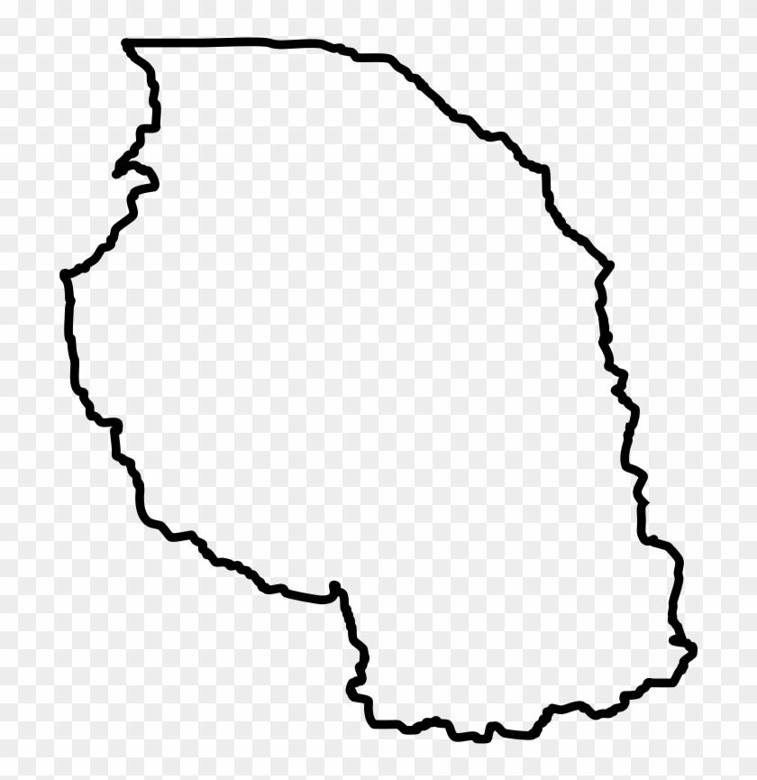 Africa Map Clip Art - East Africa Map Clip Art #289494