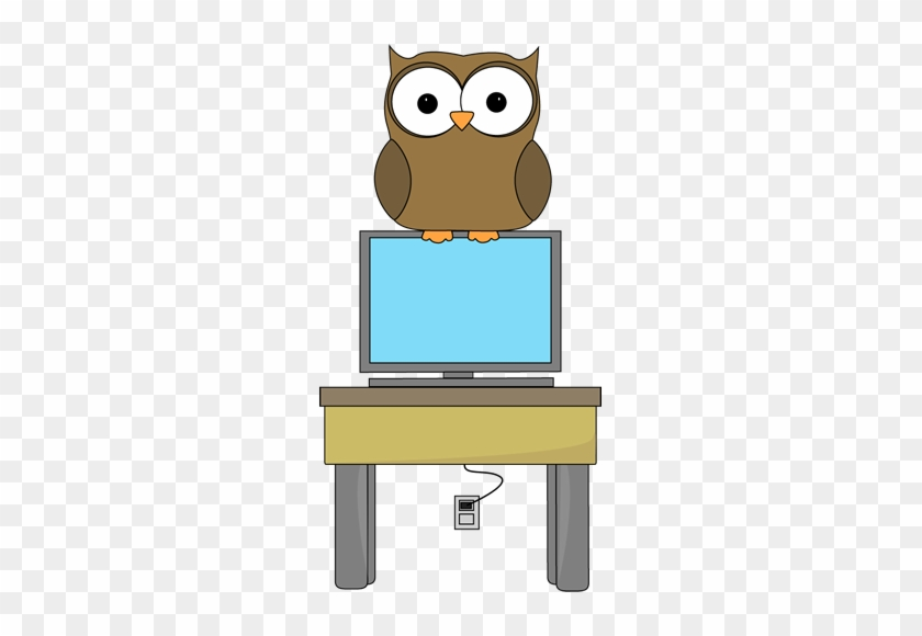Owl Classroom Computer Technology Expert Clip Art - Classroom #289496