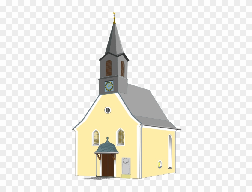 Church Clipart Transparent Background - Clipart Gereja Png #289498