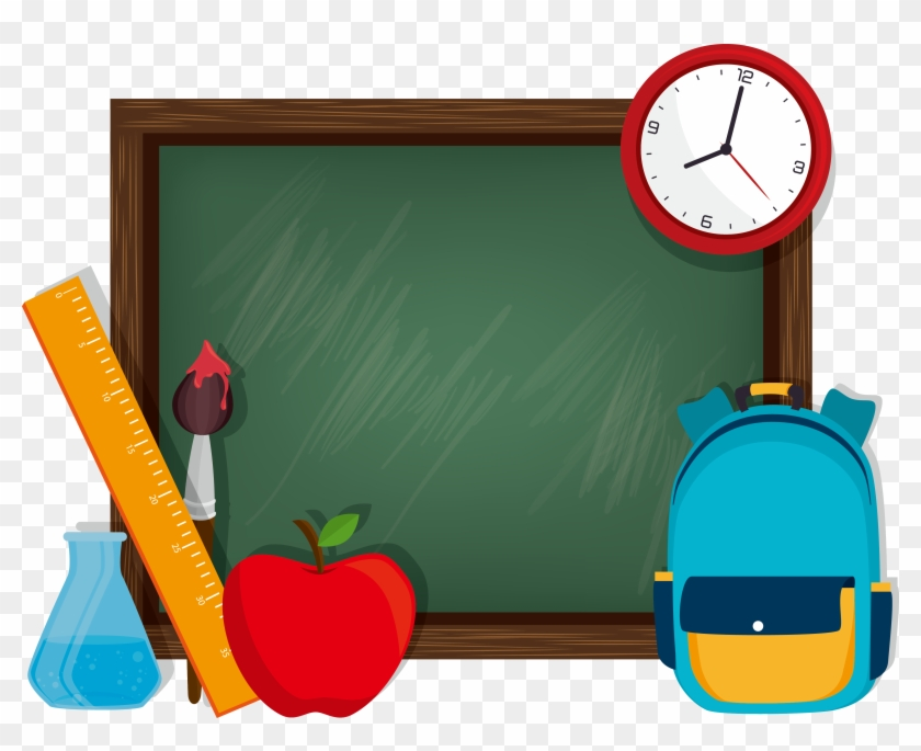School Graphic Design Illustration - School #289533