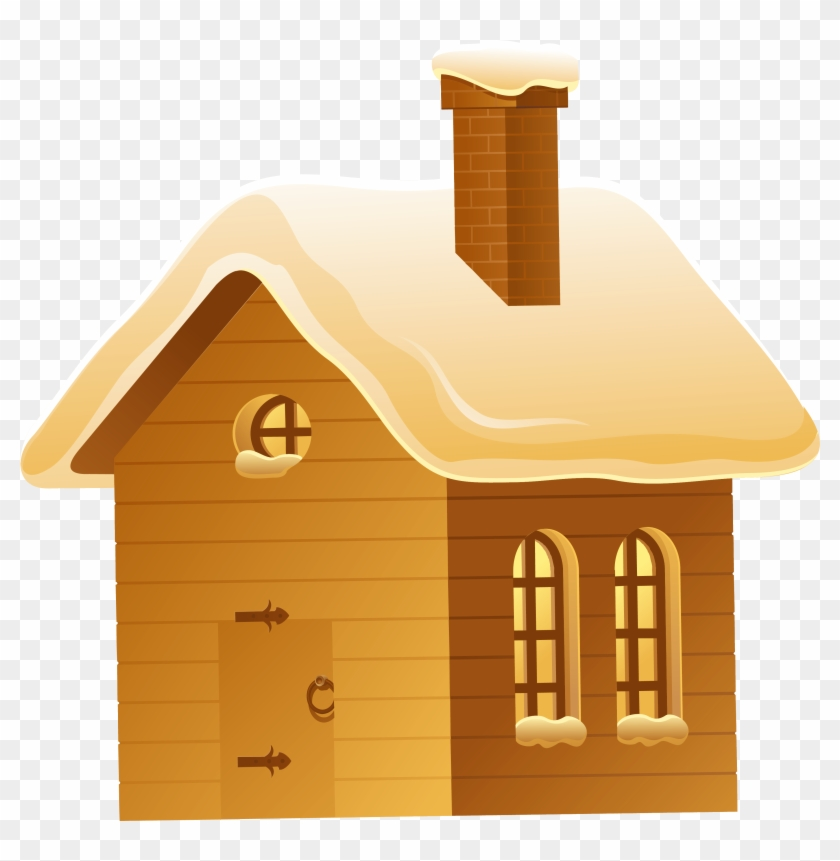 Winter Night House Png Picture Png M 1434276864 Clipart - House In Winter Clipart #289551