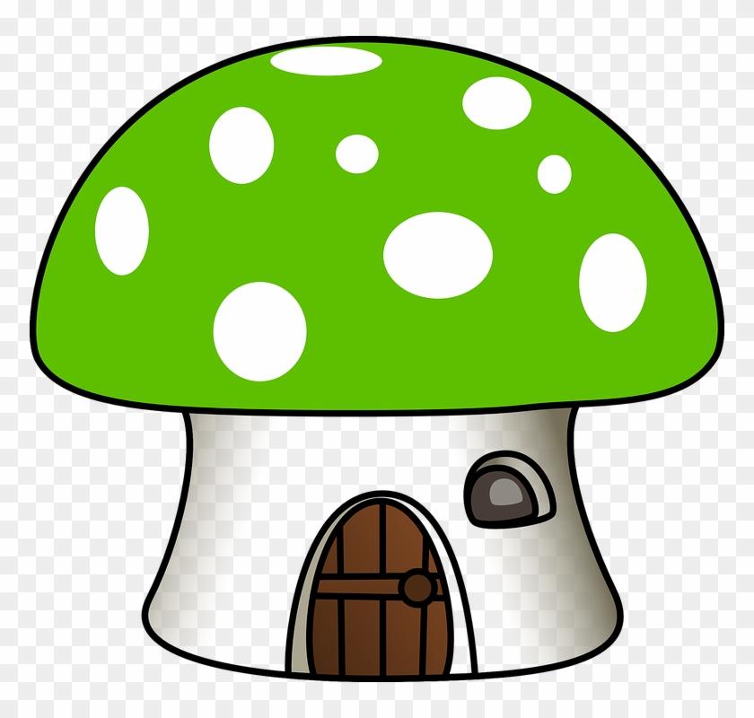 White House Vector 26, Buy Clip Art - Clipart Mushroom House #289566