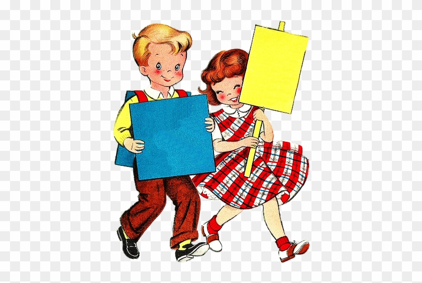 Find This Pin And More On Adorable Vintage Illustrations - School #289565