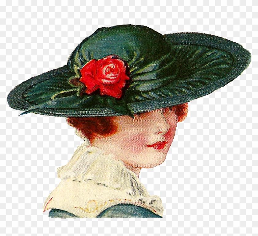 Vintage - Vintage Hat Clip Art #289569