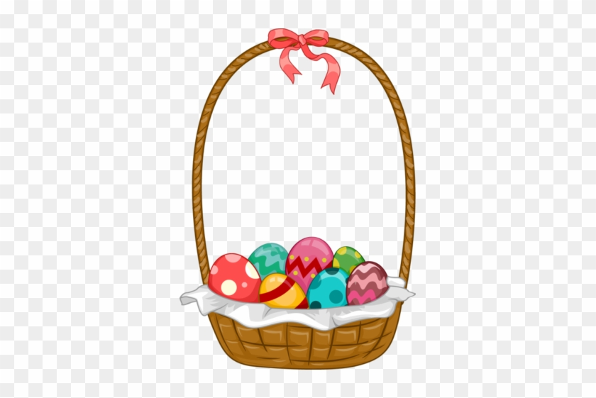 Small Easter Basket Clipart - Easter Basket Clip Art #289577