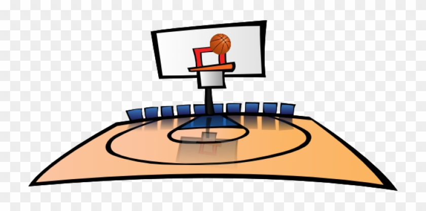 Permalink To Basketball Court Clipart Thank You Clipart - Basketball Court Clipart #289587