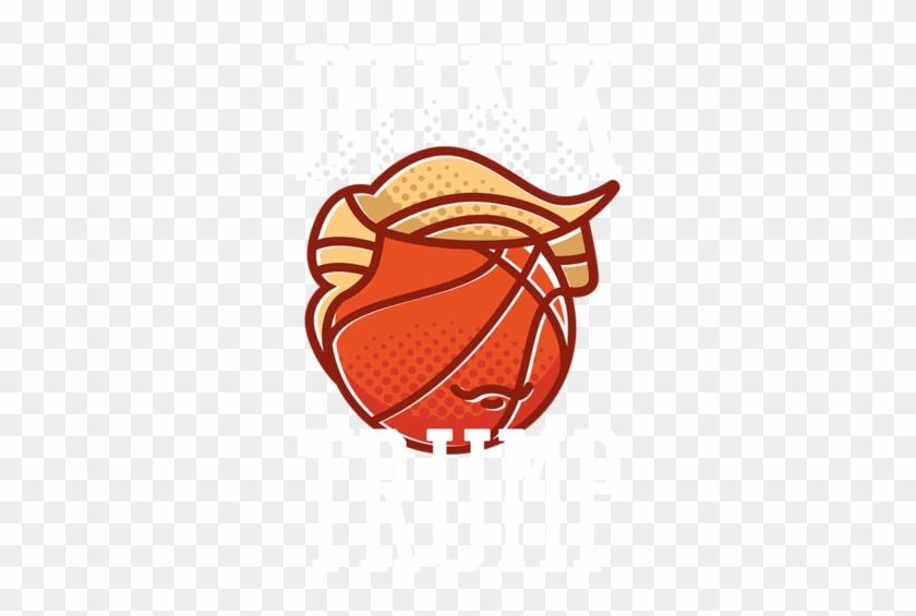 Dunk Trump T-shirt - Slam Dunk #289591