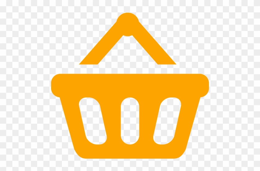 Blue Shopping Basket Icon #289605