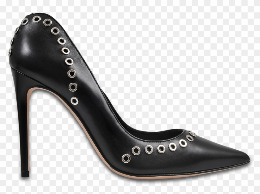 Alexander Mcqueen Studded Pumps Black Woman Largest - Court Shoe #289631