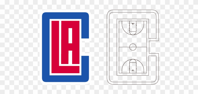 The 'la' Monogram That They've Come Up With Was Based - Los Angeles Clippers Logo #289640