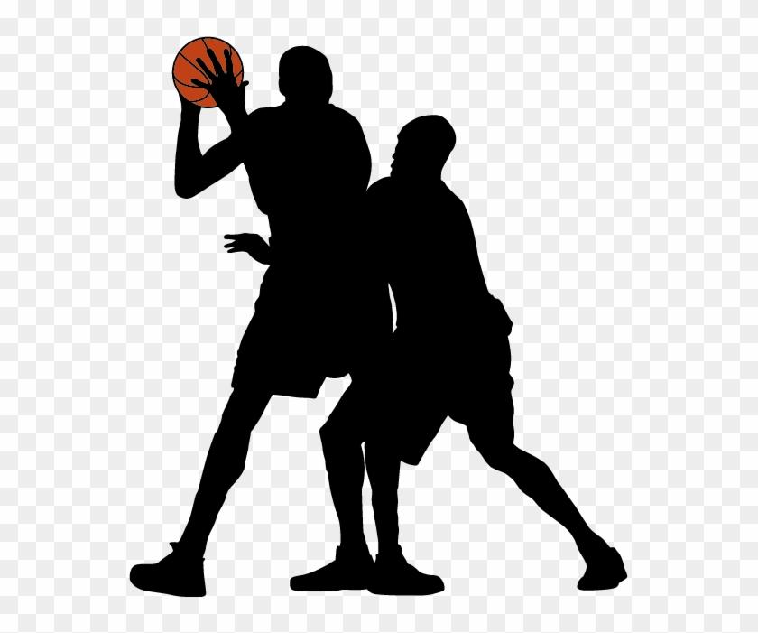 Kisspng Basketball Silhouette Sport Clip Art Cartoon - Basketball Silhouettes Clipart #289651