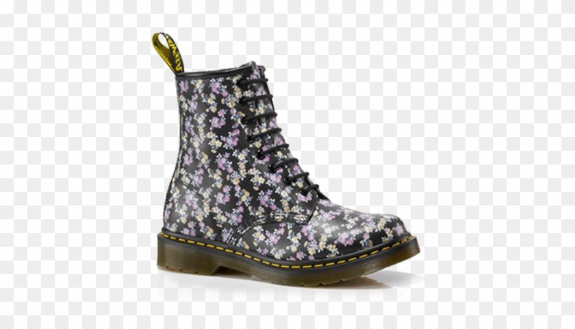 Martens Fashion Boot Woman Shoe - Women's Dr. Martens 1460 8-eye Boot Patent #289665