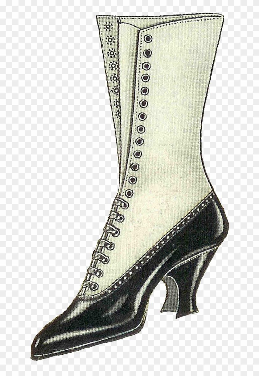 Vintage Shoe Clip Art #289672