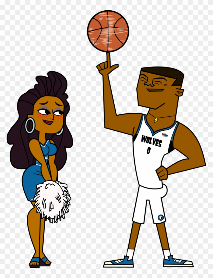 Td Basketball Couple - Lightning And Anne Maria #289676