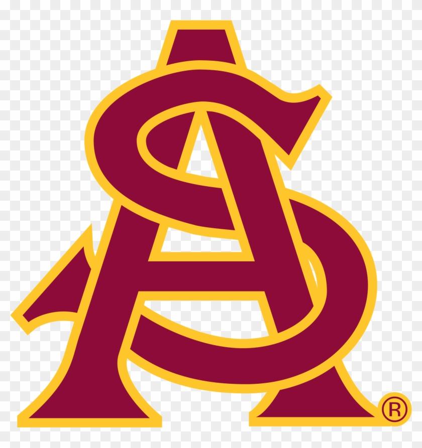 Arizona State Basketball - Arizona State University Logo #289704