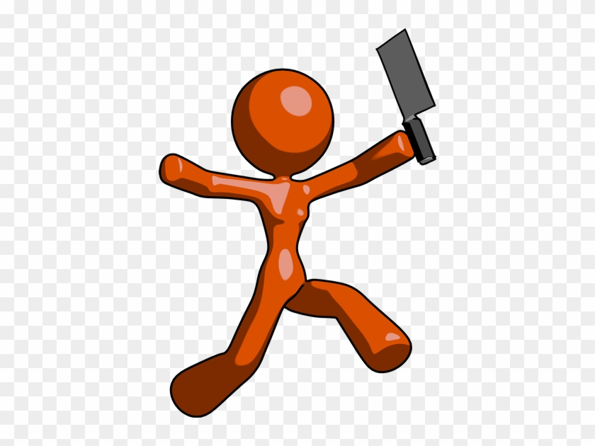 Orange Design Mascot Woman - Orange Design Mascot Woman #289706