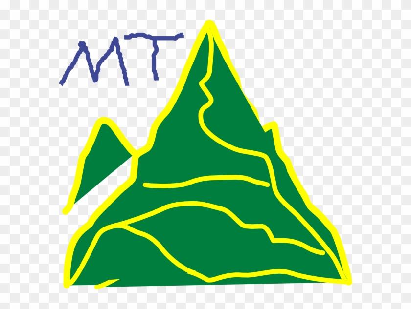 Mountain 3 Clip Art - Clip Art #289748