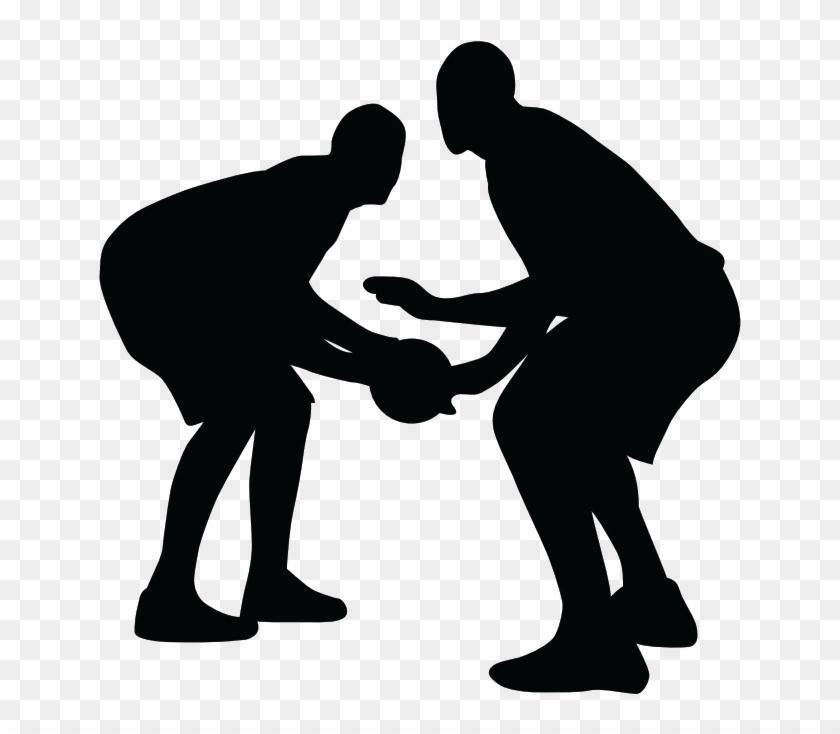 10 1 Ball Handling/passing/court Movement - Defense Basketball Transparent #289751