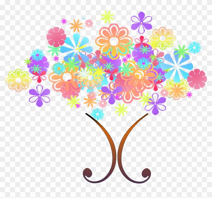 Flower Tree Clipart Png - Bouquet #289755