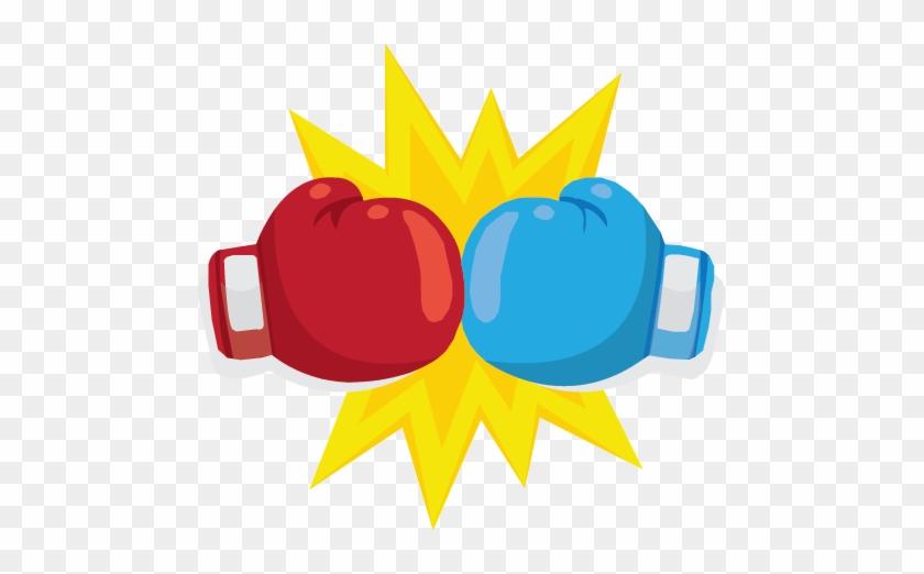 Dueling Columns - Boxing Gloves Vs #289763