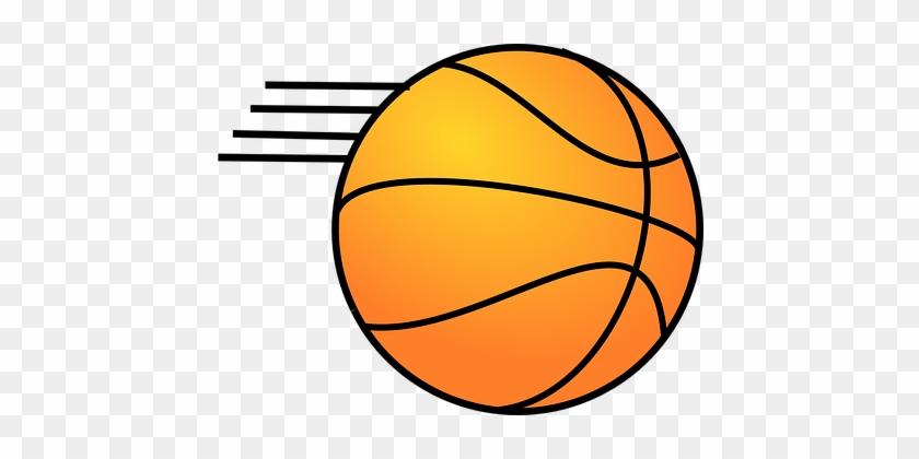 Basketball Motion Ball Sport Game Shot Pla - Bola De Basquete Desenho #289771