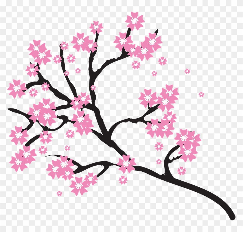 Bloom Tree Cliparts 8, - Cherry Blossom Tree Clipart #289784