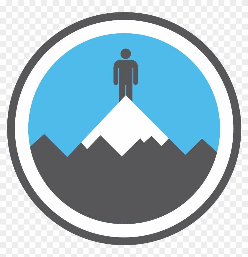 Mountain - Climbing - Everest - Rock Band Drum Icon #289813