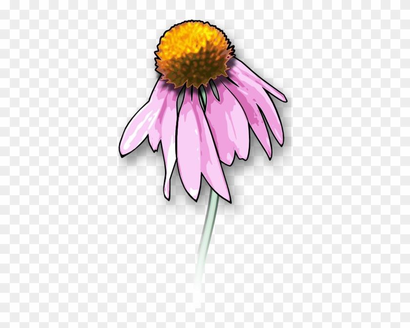 Dead Flower Clip Art At Clker - Draw A Dead Flower #289842