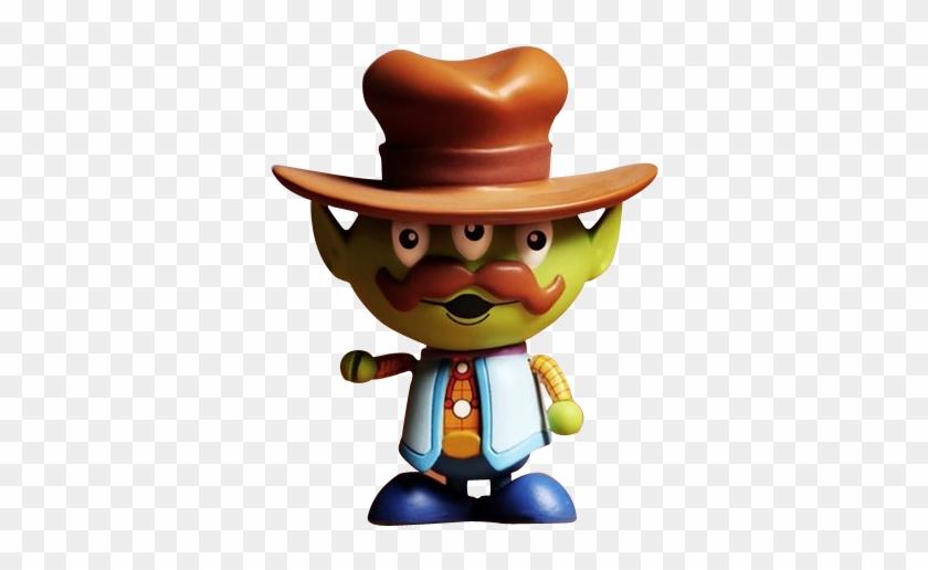 Cowboy Alien Cosbaby 3 Figure Series - Alien Toy Story Cowboy #289920