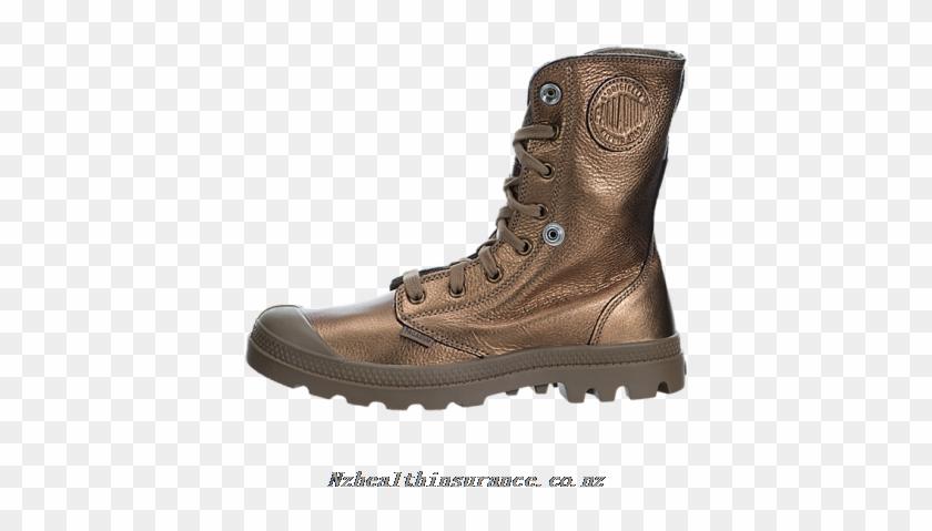 Palladium Baggy Metallic Leather - Shoe #289951