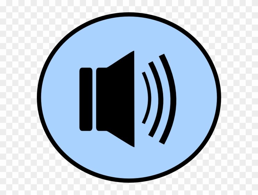 Speaker Button Png Clip Art - Loudspeaker #290100