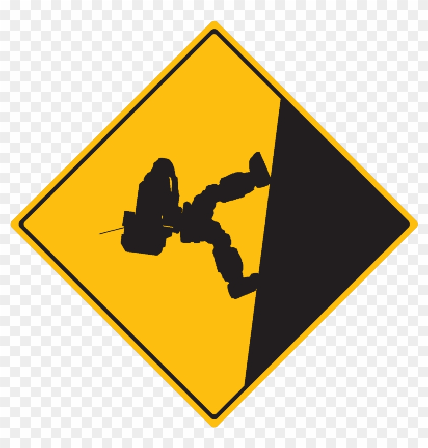 Clipart Mountain Png - Traffic Sign #290140