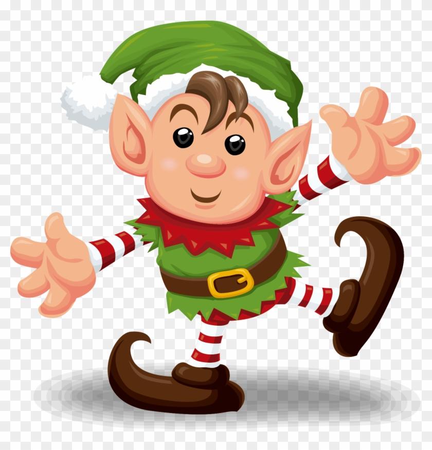 Santa Claus Christmas Elf Clip Art - Santa Claus Christmas Elf Clip Art #290187