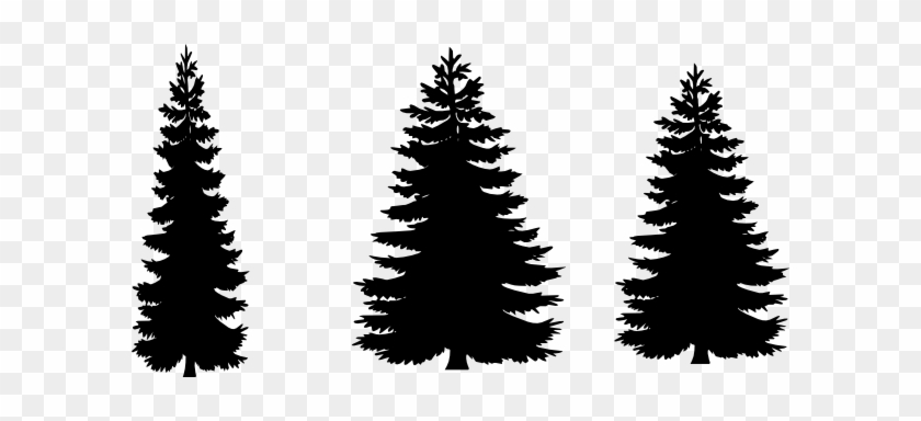 12 Free Vector Pine Trees Free Cliparts That You Can - Free Pine Tree Silhouette #290198