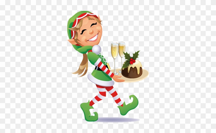 Entertainer Elf - Christmas Elves Png #290207