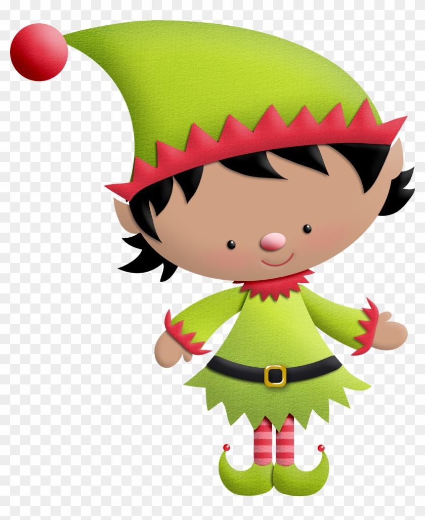 Elves ‿✿⁀○ - Elf Christmas Png #290213