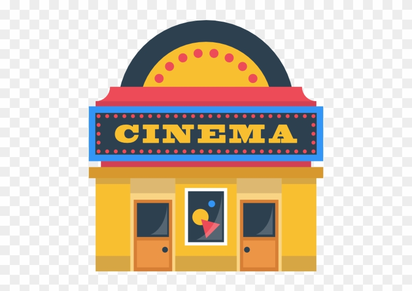 Technology Movie Film Buildings Cinema Building Cartoon Movie Theater Png Free Transparent Png Clipart Images Download