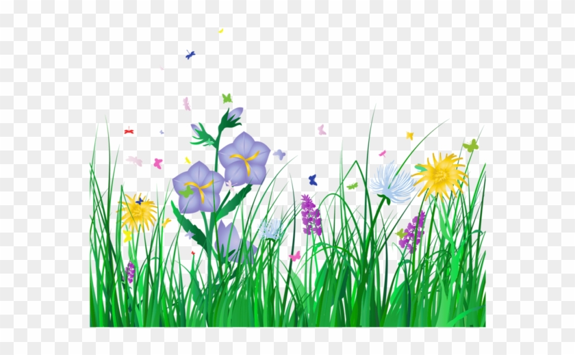 See Clipart Flower Meadow - Transparent Background Flowers Clipart #290267