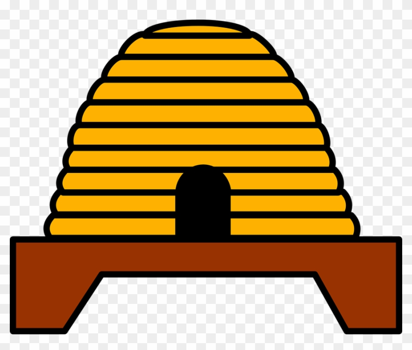Insect, Architecture, Buildings - Beehives Clip Art #290294