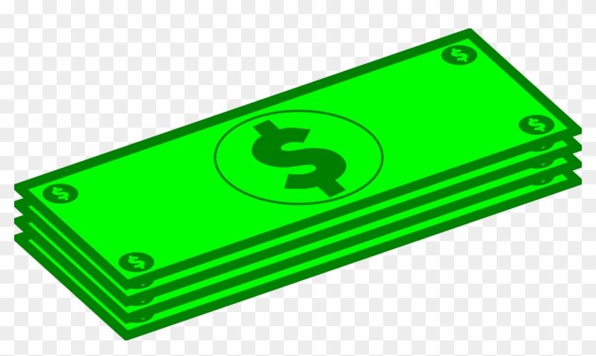 Dollar Clip Art - Money Bill Clip Art #290299